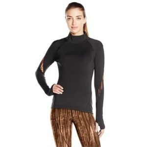 SHAPE Activewear Pullover Asymmetrical Zipper - Sm